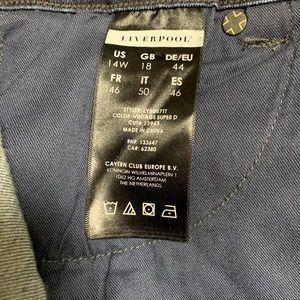 Liverpool Jeans Company Jeans - Liverpool dark wash slim boyfriend denim jeans